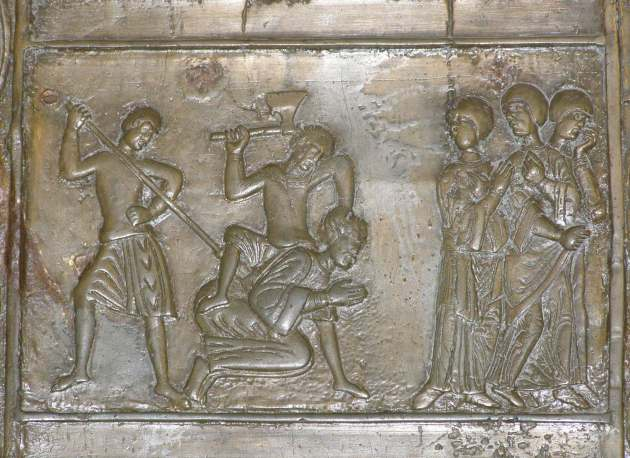 Death of Adalbertus, Gniezno Cathedral