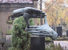 The grave of the Polish film-maker Krzysztof Kieślowski, Warsaw