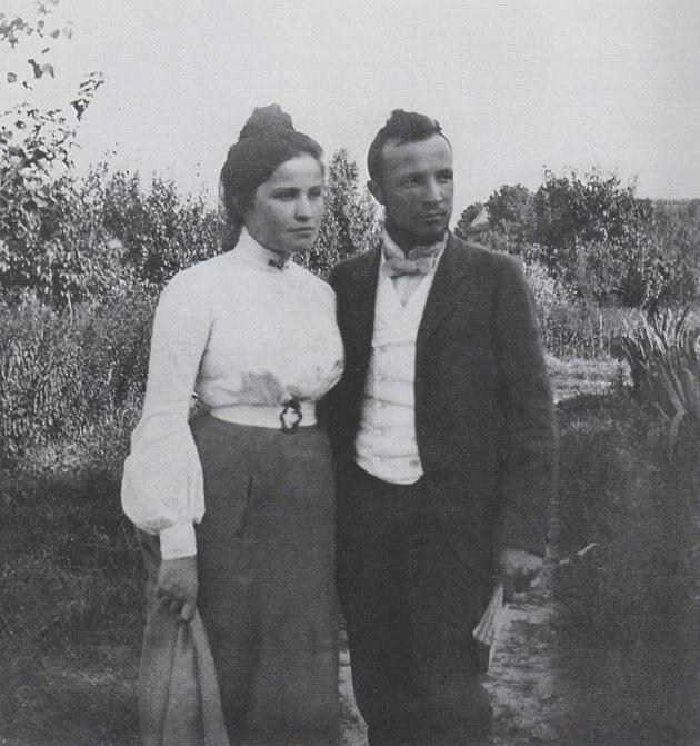 Maria & Józef Lutosławscy, 1900