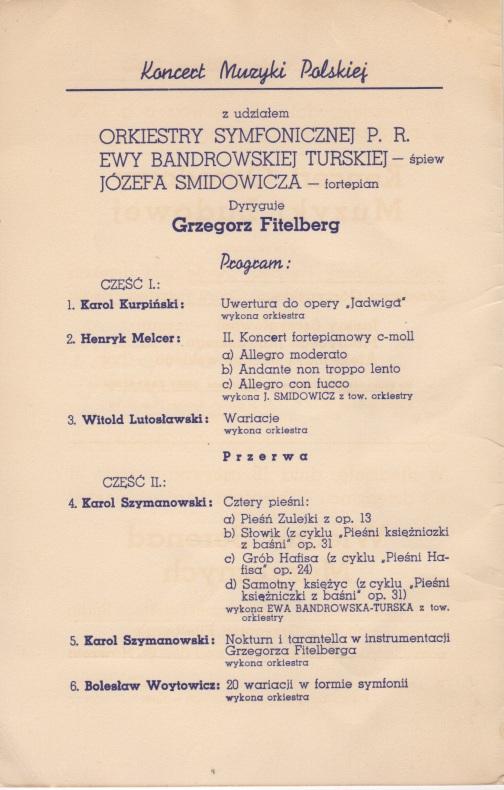 Krakøw concert 17.06.39