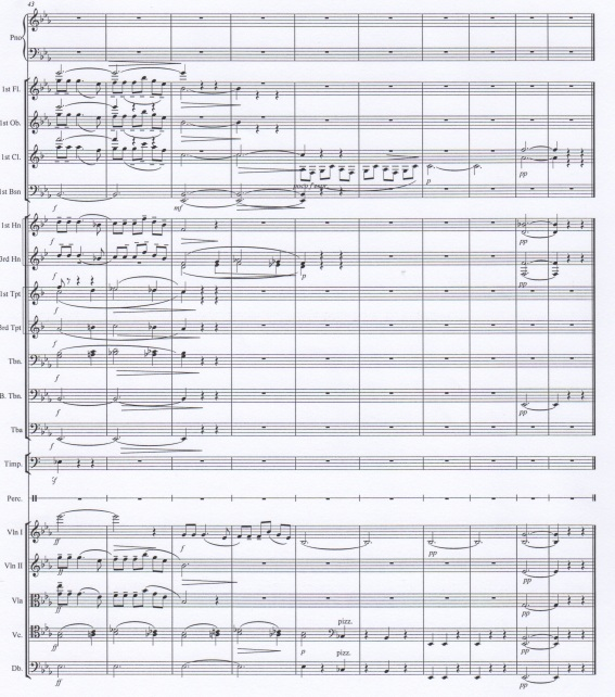 Odbudowa, full score, bb.43-end