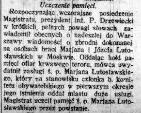WL Nowa Gazeta city tribute