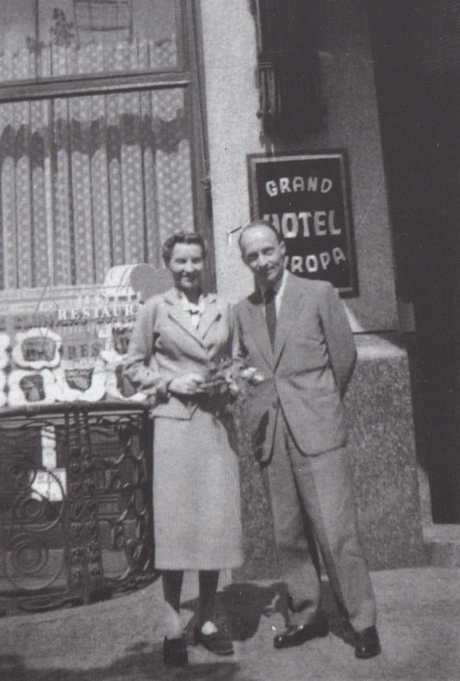 Danuta & Witold, Prague, 1957?