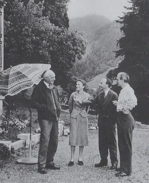 Regamey, Lutosławscy, Małcużyński, Switzerland, 1957
