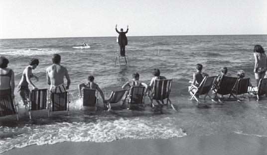Tadeusz-Kantor Eustachy Kossakowski Panoramic Sea Happening, Osieki, 1967