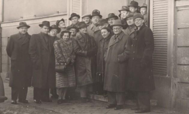ZKP visit to Poznań, 1953
